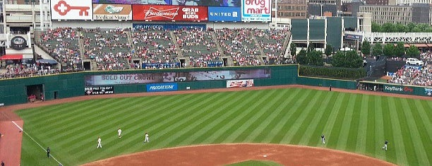 Progressive Field is one of Ballparks.