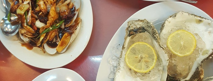 Welcome Seafood Restaurant is one of Borneo.