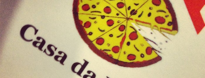 Casa da Pizza is one of restaurantes.