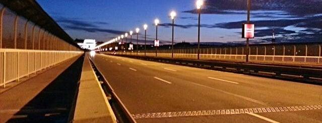 Nuselský most is one of Pražské mosty.