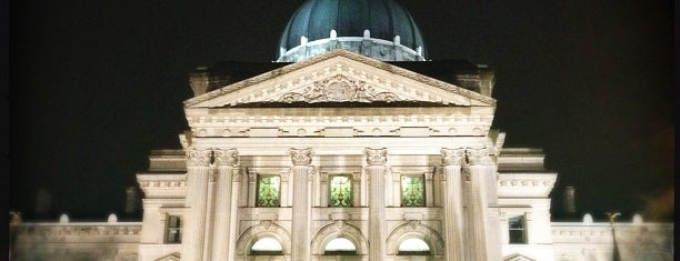 Indiana State Capitol is one of The Crowe Footsteps.