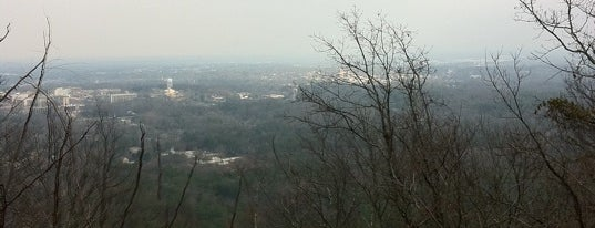 Kennesaw Mountain VC to Top West Trail is one of The 4sqLoveStory.