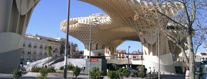 Metropol Parasol is one of 101 cosas que ver en Andalucía antes de morir.