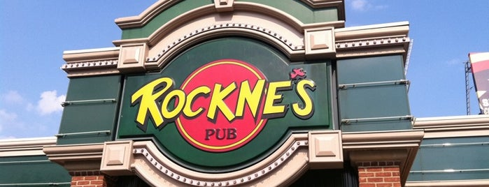 Rockne's is one of Places to go in Cuyahoga Falls.