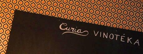 Curia Vinotéka is one of Éttermek | Restaurants.