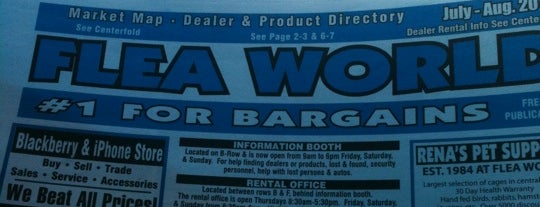Flea World is one of Favorites.