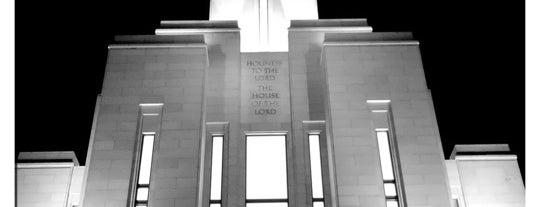 Oquirrh Mountain Utah Temple is one of Utah LDS (Mormon) Temples.