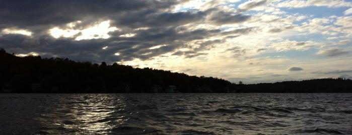 Lake Sunapee is one of New Hampshire Adventure.