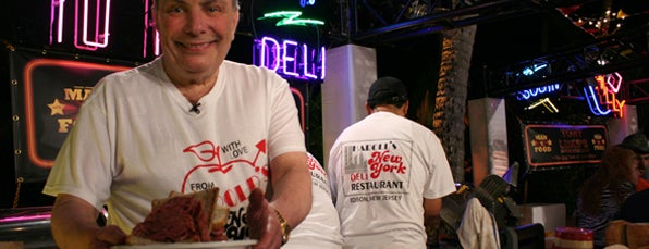 Harold's New York Deli is one of Man v Food Nation.