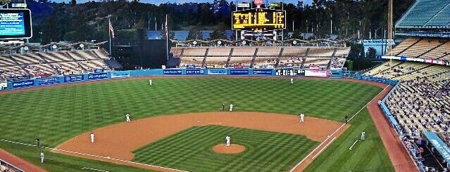 Dodger Stadium is one of LA's To do list.