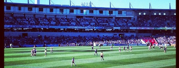Domain Stadium is one of Soccer.