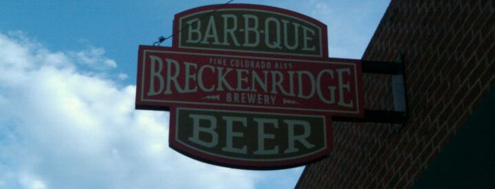 Breckenridge Brewery & BBQ is one of Colorado Microbreweries.