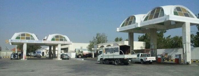 محطة الكومان للمحروقات Alcoman Petrol is one of خدمات سيارات ومحطات.
