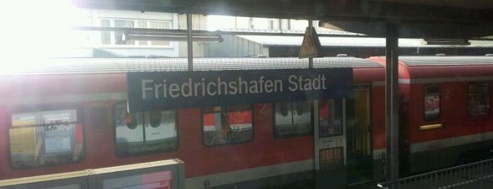 Bahnhof Friedrichshafen Stadt is one of Bahnhöfe DB.
