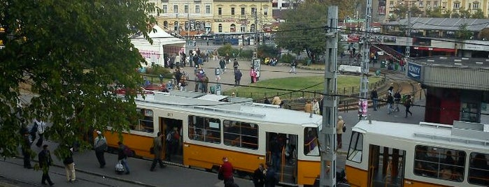 Széll Kálmán tér is one of Budapest Sightseeing.
