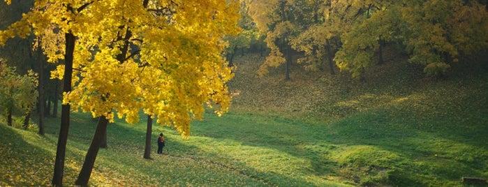 Tsaritsyno Park is one of Лучшие парки Мск.