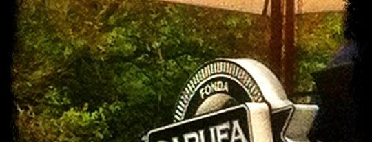 Fonda Garufa is one of Lo que no me puede faltar antes de morir.