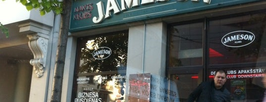 Jameson is one of Bars and Pubs in Riga.