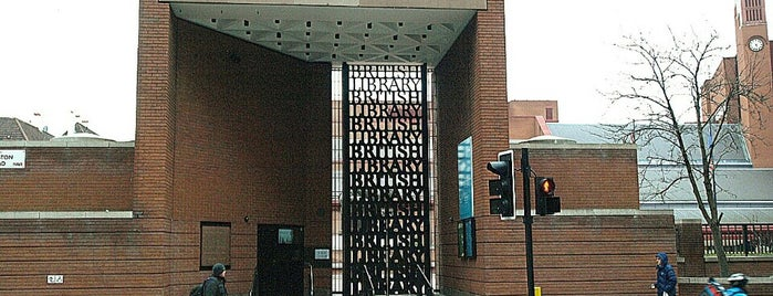 British Library is one of Free museums.