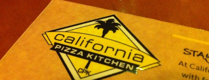 California Pizza Kitchen is one of Restaurants.