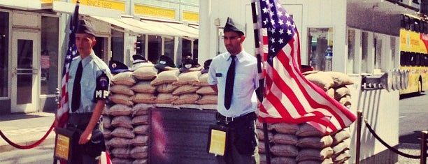 Checkpoint Charlie is one of Berlin, must see!.