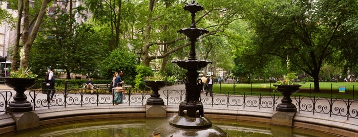 Madison Square Park is one of Architecture - Great architectural experiences NYC.