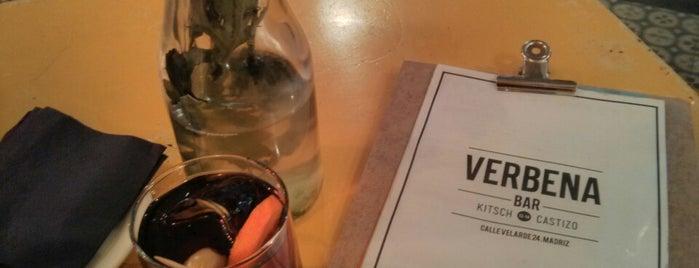 Verbena Bar is one of Gins Madrid.