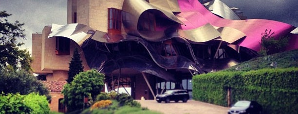 Hotel Marqués de Riscal is one of Favorite Places Around the World.