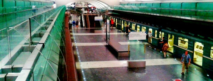 metro Zyablikovo is one of Complete list of Moscow subway stations.