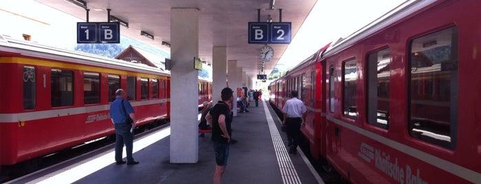 Bahnhof Scuol-Tarasp is one of Bahnhöfe Top 200 Schweiz.