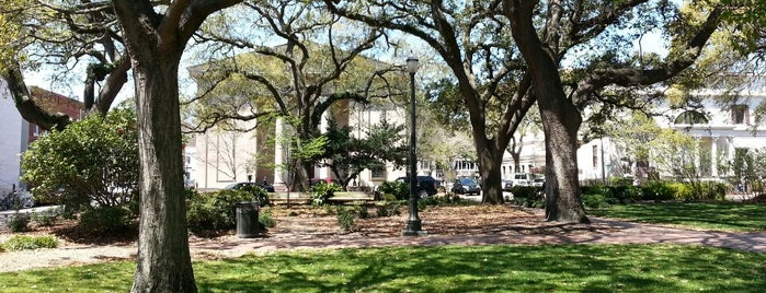 Telfair Square is one of Savannah.