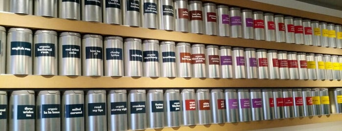 DAVIDsTEA is one of GW/NY Cafe Spots.
