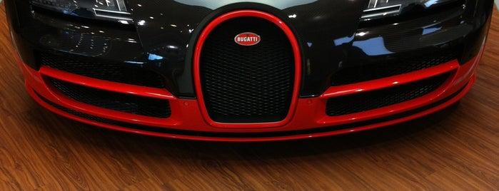 Bugatti | Automobil Forum Unter den Linden is one of Lange Nacht der Museen 2012.