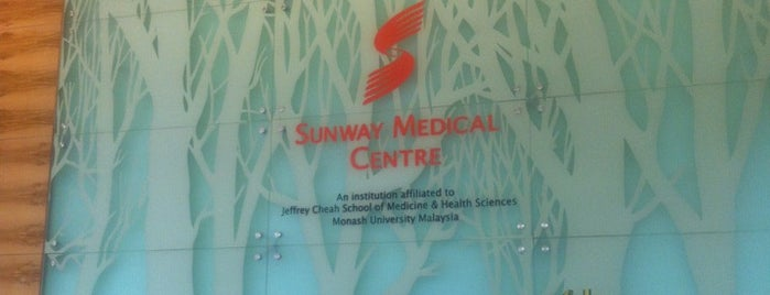 Sunway Medical Centre is one of ramg.