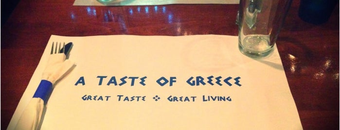 A Taste Of Greece is one of places I go.