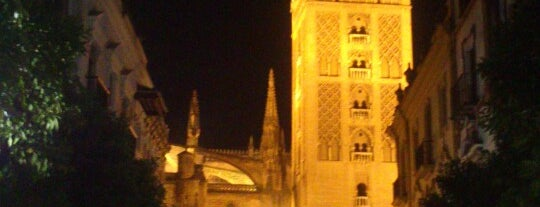 Seville Cathedral is one of My Favorites in Spain.