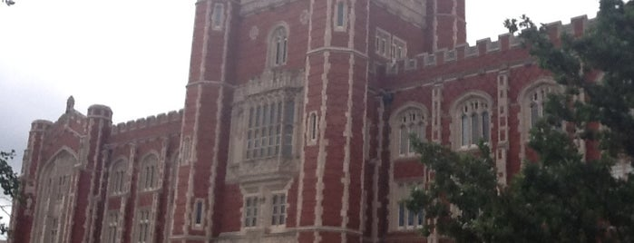 Evans Hall is one of University of Oklahoma.