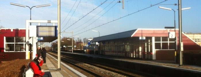Station Alkmaar Noord is one of werk/school.