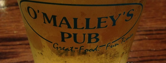 O'Malley's Pub is one of Local Redskins Rally Bars.