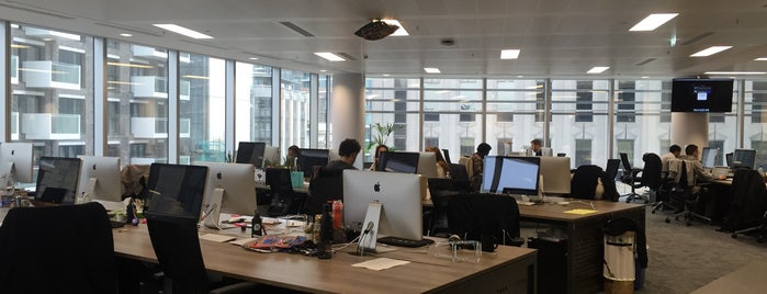 UBER London HQ is one of Silicon Roundabout / Tech City London (Open List).