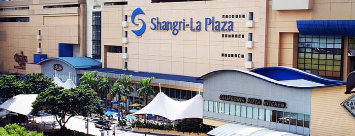 Shangri-La Plaza is one of Fave places.