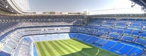 Santiago Bernabéu Stadium is one of stadium.
