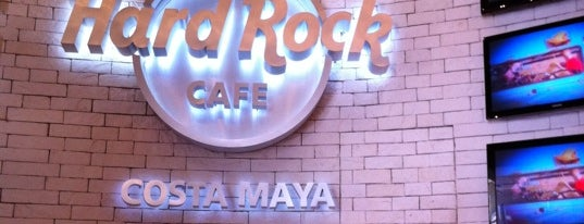 Hard Rock Cafe Costa Maya is one of HARD ROCK CAFE'S.