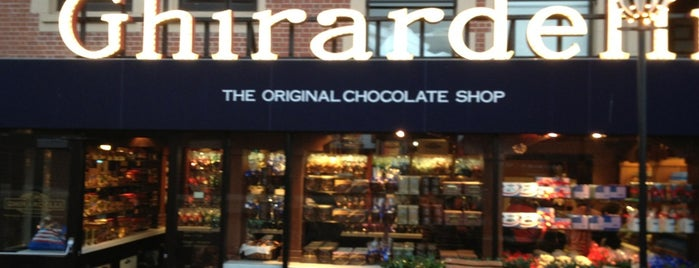 Ghirardelli Chocolate Marketplace is one of Deliciousness.