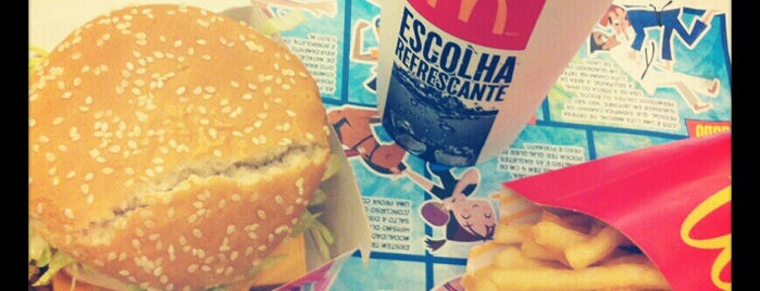McDonald's is one of Restaurantes.