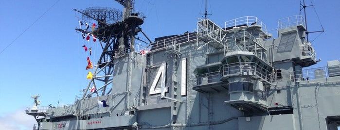 USS Midway Museum is one of Los Angeles.
