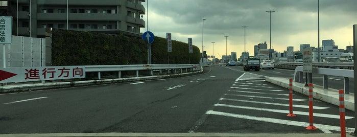 Komagata PA is one of 首都高6号向島線・三郷線.