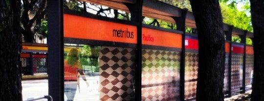 Metrobús - Estación Pacífico is one of En la Ciudad.