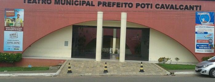 Teatro Municipal Prefeito Poti Cavalcanti is one of Lugares por onde andei..