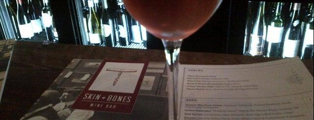 Skin + Bones is one of I gotta eat here..